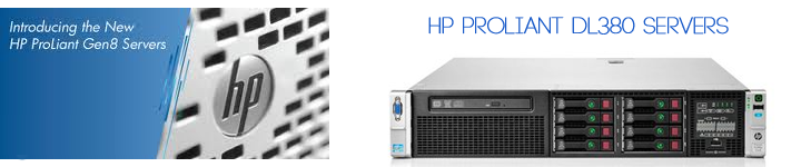 HP ProLiant DL380 Servers
